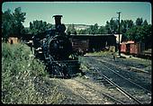 RGS #74 in Ridgway yard.<br /> RGS  Ridgway, CO  Taken by Kindig, Richard H. - 6/15/1951