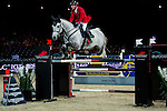 Hans-Dieter Dreher of Germany riding Cool And Easy competes at the HKJC Trophy during the Longines Hong Kong Masters 2015 at the AsiaWorld Expo on 13 February 2015 in Hong Kong, China. Photo by Juan Flor / Power Sport Images