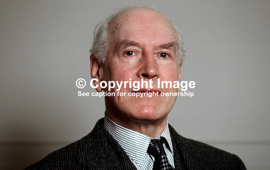 Brigadier Ronald Broadhurst, Unionist Party of N Ireland, UPNI, candidate, South Down, Convention Election, March 1975, 197503000222.<br />