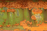 Southport Bridge rust. Green and orange.