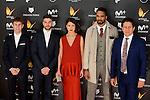 Cast of Mar de Plastico attends to the Feroz Awards 2017 in Madrid, Spain. January 23, 2017. (ALTERPHOTOS/BorjaB.Hojas)