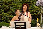 CV Rich Bat Mitzvah service in the garden and party.Shira Adler cantor