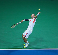 ALEXANDR DOLGOPOLOV (UKR)<br /> <br /> The US Open Tennis Championships 2015 - USTA Billie Jean King National Tennis Centre -  Flushing - New York - USA -   ATP - ITF -WTA  2015  - Grand Slam - USA  <br /> <br /> &copy; AMN IMAGES