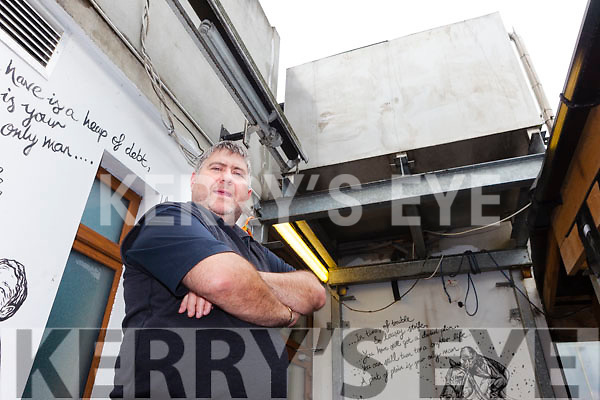 Publican Christy Walsh from Christy's The Well  installed a 4,500 litre tank some years ago which meant he had working toilet facilities for his customers.