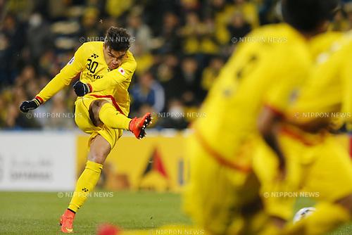 Cristiano (Reysol), March 3, 2015 - Football / Soccer : 2015 AFC Champions League Group E match between Kashiwa Reysol 5-1 Binh Duong at Hitachi Kashiwa Stadium in Chiba, Japan. (Photo by Yusuke Nakanishi/AFLO SPORT) [1090]