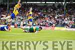 Donal O'Sullivan Kerry scores his second goal against Clare in the Munster Minor Football Final at Fitzgerald Stadium on Sunday.