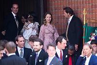 Mariage du Prince Ernst junior de Hanovre et de Ekaterina Malysheva &agrave; l'&eacute;glise Markkirche &agrave; Hanovre.<br /> Allemagne, Hanovre, 8 juillet 2017.<br /> Wedding of Prince Ernst Junior of Hanover and Ekaterina Malysheva at the Markkirche church in Hanover.<br /> Germany, Hanover, 8 july 2017<br /> Pic :  Alexandra of Hanover