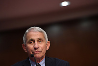 Dr. Anthony Fauci, director of the National Institute for Allergy and Infectious Diseases, testifies before the Senate Health, Education, Labor and Pensions (HELP) Committee on Capitol Hill in Washington DC on Tuesday, June 30, 2020.  Fauci and other government health officials updated the Senate on how to safely get back to school and the workplace during the COVID-19 pandemic.<br /> Credit: Kevin Dietsch / Pool via CNP /MediaPunch
