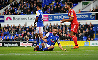 Ipswich Town's Cole Skuse disappointed at missing a chance to score a goal<br /> <br /> Photographer Hannah Fountain/CameraSport<br /> <br /> The EFL Sky Bet Championship - Ipswich Town v Middlesbrough - Tuesday 2nd October 2018 - Portman Road - Ipswich<br /> <br /> World Copyright &copy; 2018 CameraSport. All rights reserved. 43 Linden Ave. Countesthorpe. Leicester. England. LE8 5PG - Tel: +44 (0) 116 277 4147 - admin@camerasport.com - www.camerasport.com