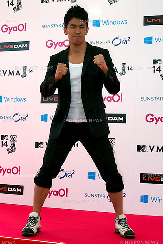 So Takei, June 14, 2014 : MTV VMAJ (Video Music Awards Japan 2014 at Maihama Amphitheater in Chiba, Japan. (Photo by Rodrigo Reyes Marin/AFLO)