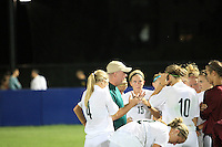 Eastern Michigan's Women's Soccer team ties 1-1 @ the University of Michigan. August 8th, 2010