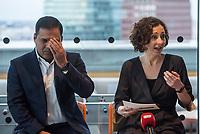 Ramona Pop, Berlins stellv. Buergermeisterin und Wirtschaftsenatorin (rechts im Bild) traf sich am Montag den 4. Maerz 2019 in Berlin mit Londons stellvertretendem Buergermeister fuer Wirtschaft, Rajesh Agrawal (links im Bild). Sie sprachen ueber die wirtschaftliche Zusammenarbeit der beiden Hauptstaedte und die moeglichen Folgen eines Brexit.<br /> 4.3.2019, Berlin<br /> Copyright: Christian-Ditsch.de<br /> [Inhaltsveraendernde Manipulation des Fotos nur nach ausdruecklicher Genehmigung des Fotografen. Vereinbarungen ueber Abtretung von Persoenlichkeitsrechten/Model Release der abgebildeten Person/Personen liegen nicht vor. NO MODEL RELEASE! Nur fuer Redaktionelle Zwecke. Don't publish without copyright Christian-Ditsch.de, Veroeffentlichung nur mit Fotografennennung, sowie gegen Honorar, MwSt. und Beleg. Konto: I N G - D i B a, IBAN DE58500105175400192269, BIC INGDDEFFXXX, Kontakt: post@christian-ditsch.de<br /> Bei der Bearbeitung der Dateiinformationen darf die Urheberkennzeichnung in den EXIF- und  IPTC-Daten nicht entfernt werden, diese sind in digitalen Medien nach §95c UrhG rechtlich geschuetzt. Der Urhebervermerk wird gemaess §13 UrhG verlangt.]