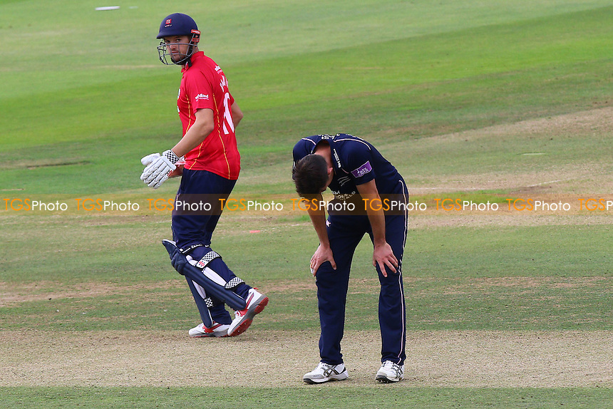 Frustration for James Franklin of Middlesex as a chance goes down during Middlesex vs Essex Eagles, Royal London One-Day Cup Cricket at Lord's Cricket Ground on 31st July 2016