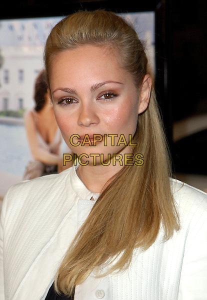 BEATRICE ROSEN.Chasing Liberty Los Angeles Premiere held at The Grauman's Chinese Theater .7 January 2004.**UK Sales Only**.headshot, portrait.www.capitalpictures.com.sales@capitalpictures.com.©Capital Pictures.