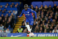 N'Golo Kante of Chelsea in action during Chelsea vs Manchester United, Emirates FA Cup Football at Stamford Bridge on 18th February 2019