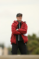 14 April 2006: Head coach Aimee Baker during the 2006 Stanford Invitational Crew Classic at Redwood Shores, CA.