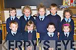 Coolick NS Kilcummin junior infants at school on Tuesday Daniel Kelly, Kyla O'Leary, Mark O'Mahony, Jane Blackwell. Back row: Aaron O'Leary, Eva Kearney, Amy Sexton, Mark O'Shea and Katie Doolan