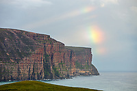 Rainbow over Hoy, Scotland