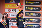 Caleb Ewan (AUS) Mitchelton-Scott runner up in the 109th edition of Milan-Sanremo 2018 running 294km from Milan to Sanremo, Italy. 17th March 2018.<br /> Picture: LaPresse/Marco Alpozzi | Cyclefile<br /> <br /> <br /> All photos usage must carry mandatory copyright credit (&copy; Cyclefile | LaPresse/Marco Alpozzi)