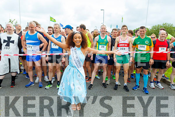 2018 Rose of Tralee, Kristen Mate Maher about to start the Tralee Harriers Rose of Tralee 10k in the Tralee Wetlands on Sunday.