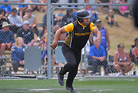 Wayne Laulu. Wellington v North Harbour men's final. 2020 National Fastpitch Softball Championships at Fraser Park in Lower Hutt, New Zealand on Sunday, 16 February 2020. Photo: Dave Lintott / lintottphoto.co.nz