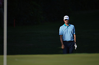 Justin Rose (GBR) chips on to 11 during round 2 of the Fort Worth Invitational, The Colonial, at Fort Worth, Texas, USA. 5/25/2018.<br /> Picture: Golffile | Ken Murray<br /> <br /> All photo usage must carry mandatory copyright credit (&copy; Golffile | Ken Murray)