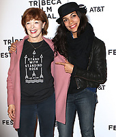 www.acepixs.com<br /> <br /> April 22 2017, New York City<br /> <br /> Frances Fisher and Rosario Dawson arriving at the premiere of 'Awake: A Dream from Standing Rock' during the 2017 Tribeca Film Festival at Cinepolis Chelsea on April 22, 2017 in New York City. <br /> <br /> By Line: Nancy Rivera/ACE Pictures<br /> <br /> <br /> ACE Pictures Inc<br /> Tel: 6467670430<br /> Email: info@acepixs.com<br /> www.acepixs.com