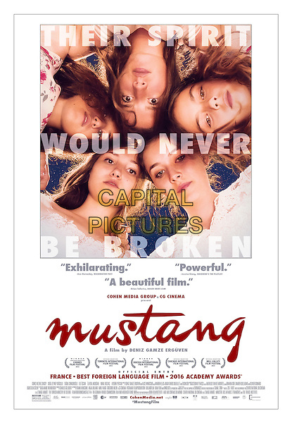Mustang (2015)<br /> POSTER ART<br /> *Filmstill - Editorial Use Only*<br /> CAP/KFS<br /> Image supplied by Capital Pictures