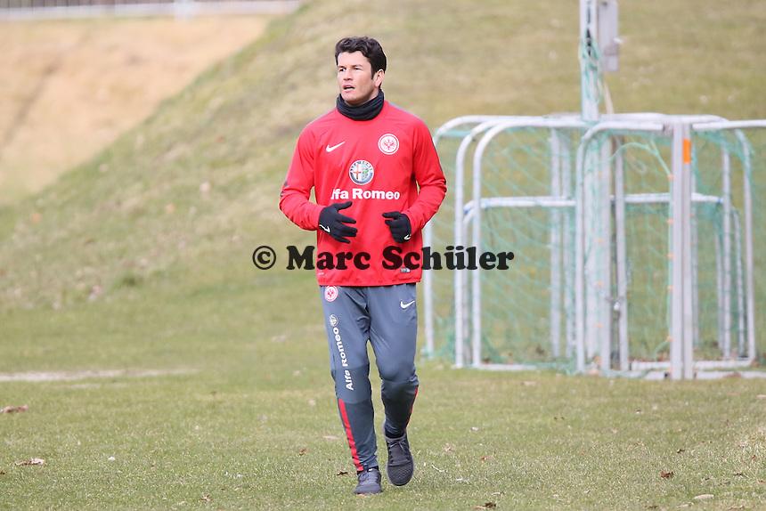 Nelson Valdez - Eintracht Frankfurt Training, Commerzbank Arena