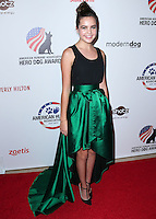 BEVERLY HILLS, CA, USA - SEPTEMBER 27: Bailee Madison arrives at the 4th Annual American Humane Association Hero Dog Awards held at the Beverly Hilton Hotel on September 27, 2014 in Beverly Hills, California, United States. (Photo by Xavier Collin/Celebrity Monitor)
