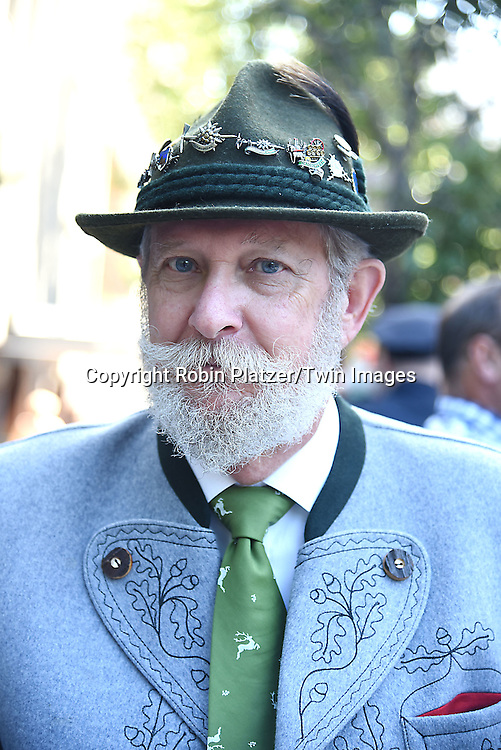 Tom Fraher attends the 59th German-American Steuben Parade on September 17, 2016 on Fifth Avenue in New York City, New York, USA. <br /> <br /> photo by Robin Platzer/Twin Images<br />  <br /> phone number 212-935-0770