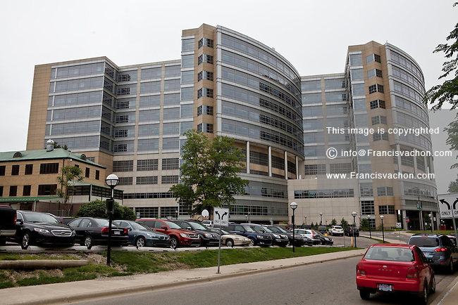 The University of Michigan medical school hospital is seen in Ann Arbor, Michigan Friday June 7, 2013.