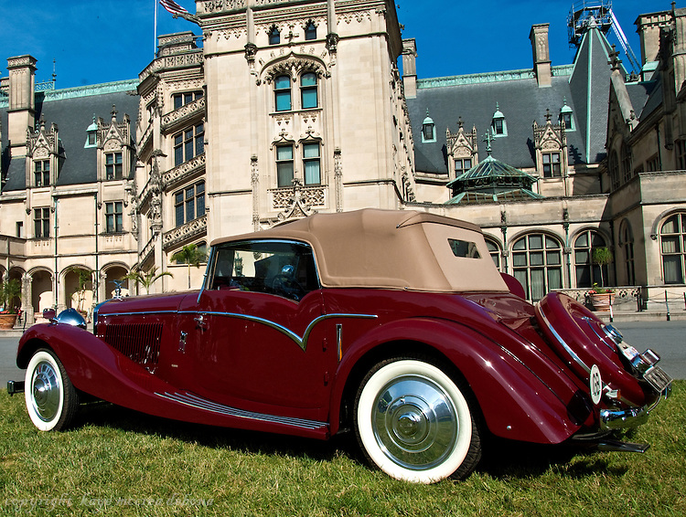 NE Rolls Royce and Bentley Club at the Biltmore Estate