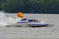 CS-777, 2.5 Litre Stock class hydroplane.Syracuse Hydrofest, Onondaga Lake, Syracuse, NY.20/21 June, 2009, Dayton, OH USA..©F. Peirce Williams 2009 USA.F.Peirce Williams.photography.ref: RAW (.NEF) File Available