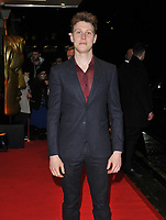 George MacKay at the BAFTAs fundraising gala dinner & auction, The savoy Hotel, The Strand, London, England, UK, on Friday 08th February 2019.<br /> CAP/CAN<br /> ©CAN/Capital Pictures