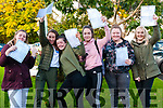 Students from Presentation Secondary, Listowel who receive their Junior Cert results on Wednesday morning last. L-R: Jaymee Greenalsh, Mairead McKenna, Eimear Shine, Leona O'Sullivan, Kayla O'Donoghue & Aoife O'Leary