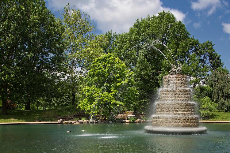 Goodale Park Fountain | Malcolm Cochran