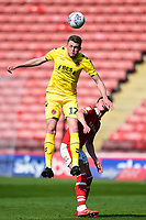 Fleetwood Town's Harry Souttar in action<br /> <br /> Photographer Richard Martin-Roberts/CameraSport<br /> <br /> The EFL Sky Bet League One - Barnsley v Fleetwood Town - Saturday 13th April 2019 - Oakwell - Barnsley<br /> <br /> World Copyright © 2019 CameraSport. All rights reserved. 43 Linden Ave. Countesthorpe. Leicester. England. LE8 5PG - Tel: +44 (0) 116 277 4147 - admin@camerasport.com - www.camerasport.com