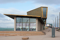 Festival House on the new promenade development near Blackpool Tower, Blackpool, Lancashire.