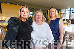 Sharon, Noreen and Carol Heffernan attending the Women's Christmas lunch in the Ballyroe Heights Hotel on Sunday.