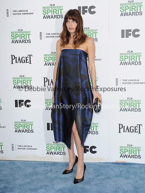 Lake Bell<br />  attends The 2014 Film Independent Spirit Awards held at Santa Monica Beach in Santa Monica, California on March 01,2014                                                                               © 2014 Hollywood Press Agency