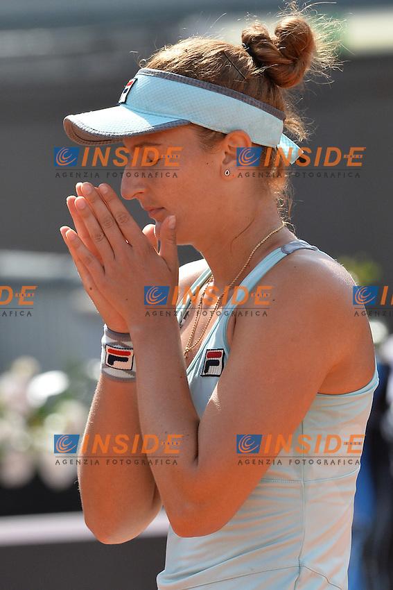 Irina Camelia Begu (ROU)<br /> Roma 13-05-2016  Foro Italico<br /> Internazionali BNL d'Italia, <br /> Tennis WTA<br /> Foto Antonietta Baldassarre / Insidefoto