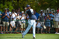 Jon Rahm (ESP) watches his tee shot on 10 during round 1 of the 2019 Tour Championship, East Lake Golf Course, Atlanta, Georgia, USA. 8/22/2019.<br /> Picture Ken Murray / Golffile.ie<br /> <br /> All photo usage must carry mandatory copyright credit (© Golffile | Ken Murray)