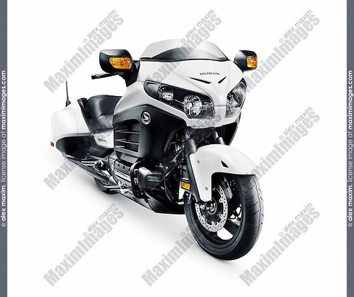 2016 Honda Gold Wing F6B cruiser motorcycle motorbike isolated on white background with clipping path