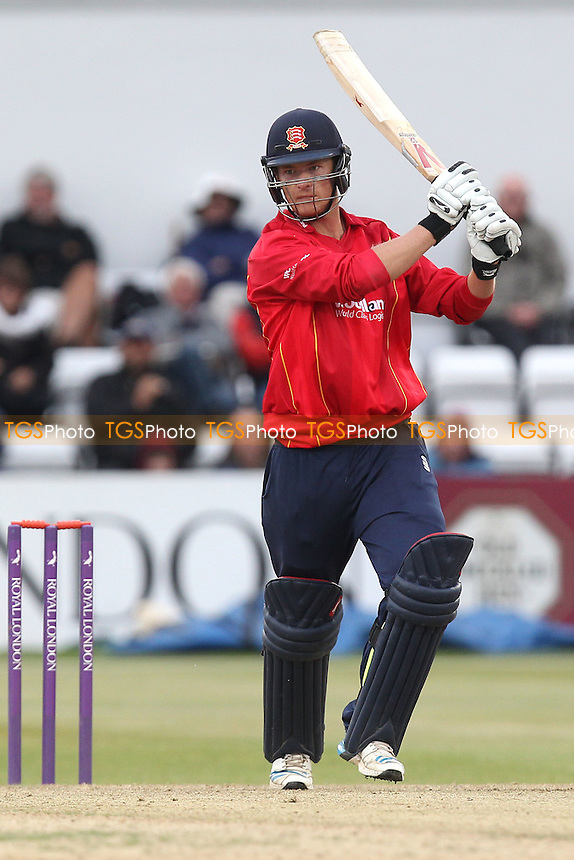 Tom Westley in batting action for Essex - Northamptonshire Steelbacks vs Essex Eagles - Royal London One-Day Cup at the County Ground, Northampton - 21/08/14 - MANDATORY CREDIT: Gavin Ellis/TGSPHOTO - Self billing applies where appropriate - contact@tgsphoto.co.uk - NO UNPAID USE