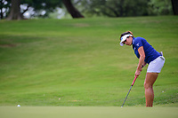Gerina Piller (USA) watches her putt on 9 during round 2 of  the Volunteers of America Texas Shootout Presented by JTBC, at the Las Colinas Country Club in Irving, Texas, USA. 4/28/2017.<br /> Picture: Golffile | Ken Murray<br /> <br /> <br /> All photo usage must carry mandatory copyright credit (&copy; Golffile | Ken Murray)