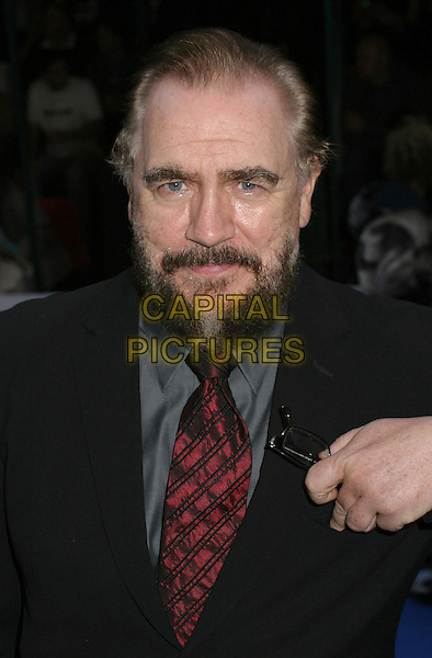 BRIAN COX.Attending the X-Men 2 Premiere, Odeon West End, London..24th April 2003 .Ref: Ten.headshot, portrait, beard, facial hair.www.capitalpictures.com.sales@capitalpictures.com.©Capital Pictures