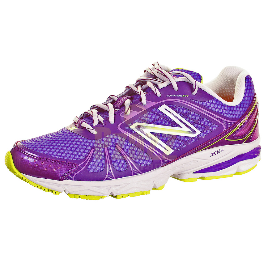 New Balance Ladies Fantom Fit RevLite Purple Running Shoe