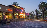 Aliso Viejo Town Center at Night