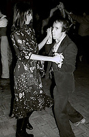 Shelley Duvall and Paul Simon at Studio54 1978<br /> Photo By Adam Scull/PHOTOlink.net